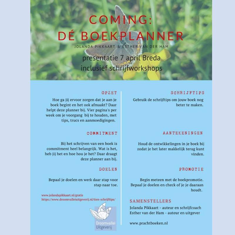 Boekpresentatie: de Boekplanner & Zorg dat jouw boek er wél komt