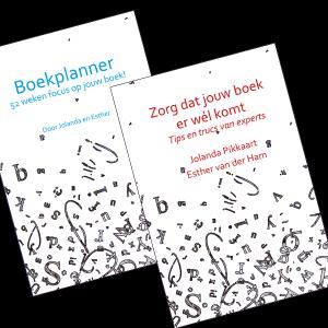 Bestellen: Boekplanner & tips en trucs boek schrijven