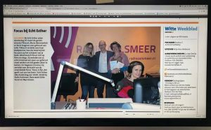 Boekplanner in het Witte Weekblad